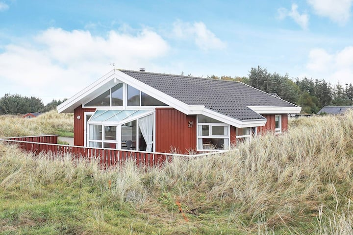 Bewitching Holiday Home in Lokken near Sea