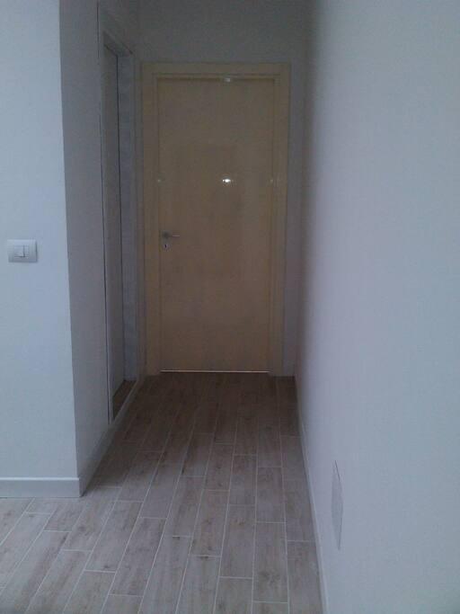 corridoio del piano ospiti  - massima privacy