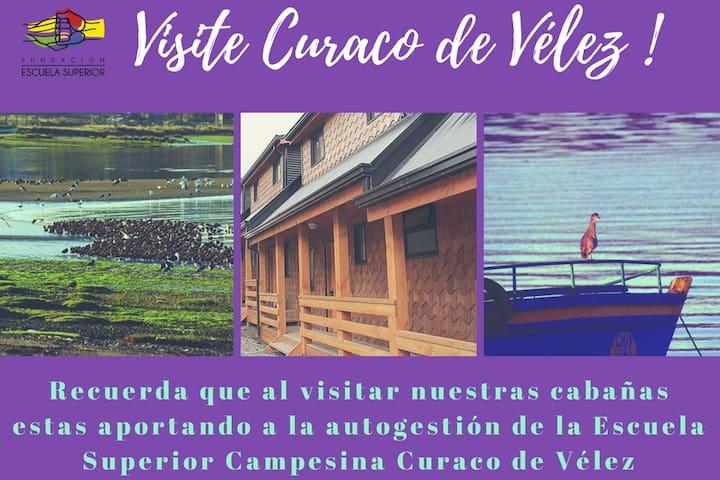 Cabañas Curaco de Vélez.