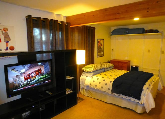 Cozy lakeview studio on Lake Tahoe - Tahoe City - Daire