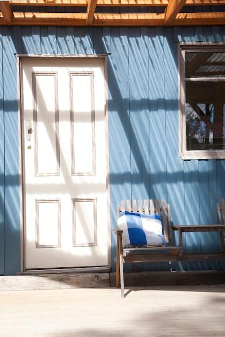 Front door to your home.