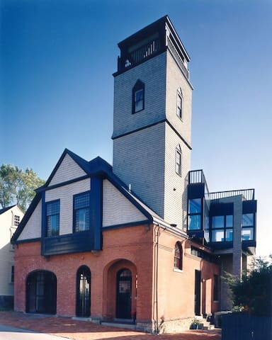 Sailor's Loft in Historic Firehouse