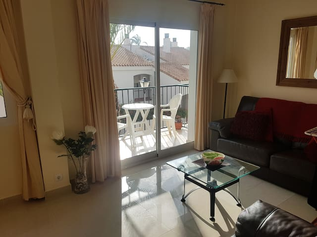 Main Living room with balcony