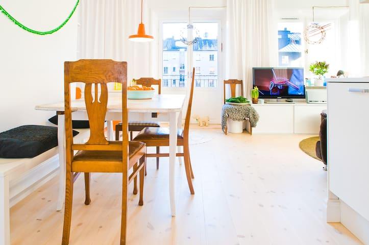 Designer apartment innercity Sthlm