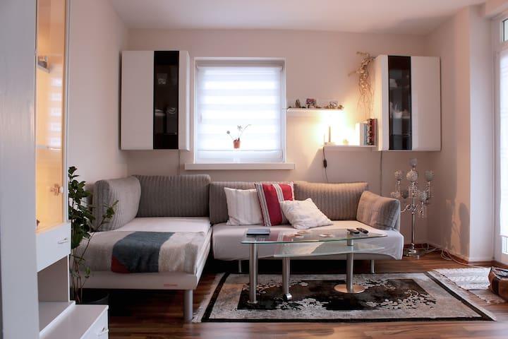 Apartment 40 m² with Balcony Hamburg City