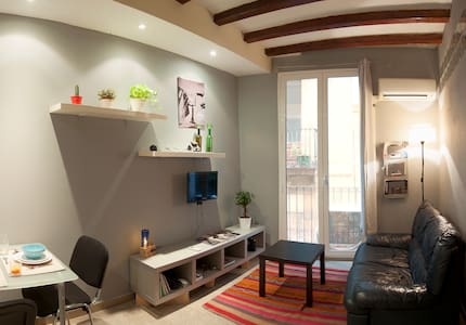 Nice & comfortable Pl. Catalunya flat - Barcelone - Appartement