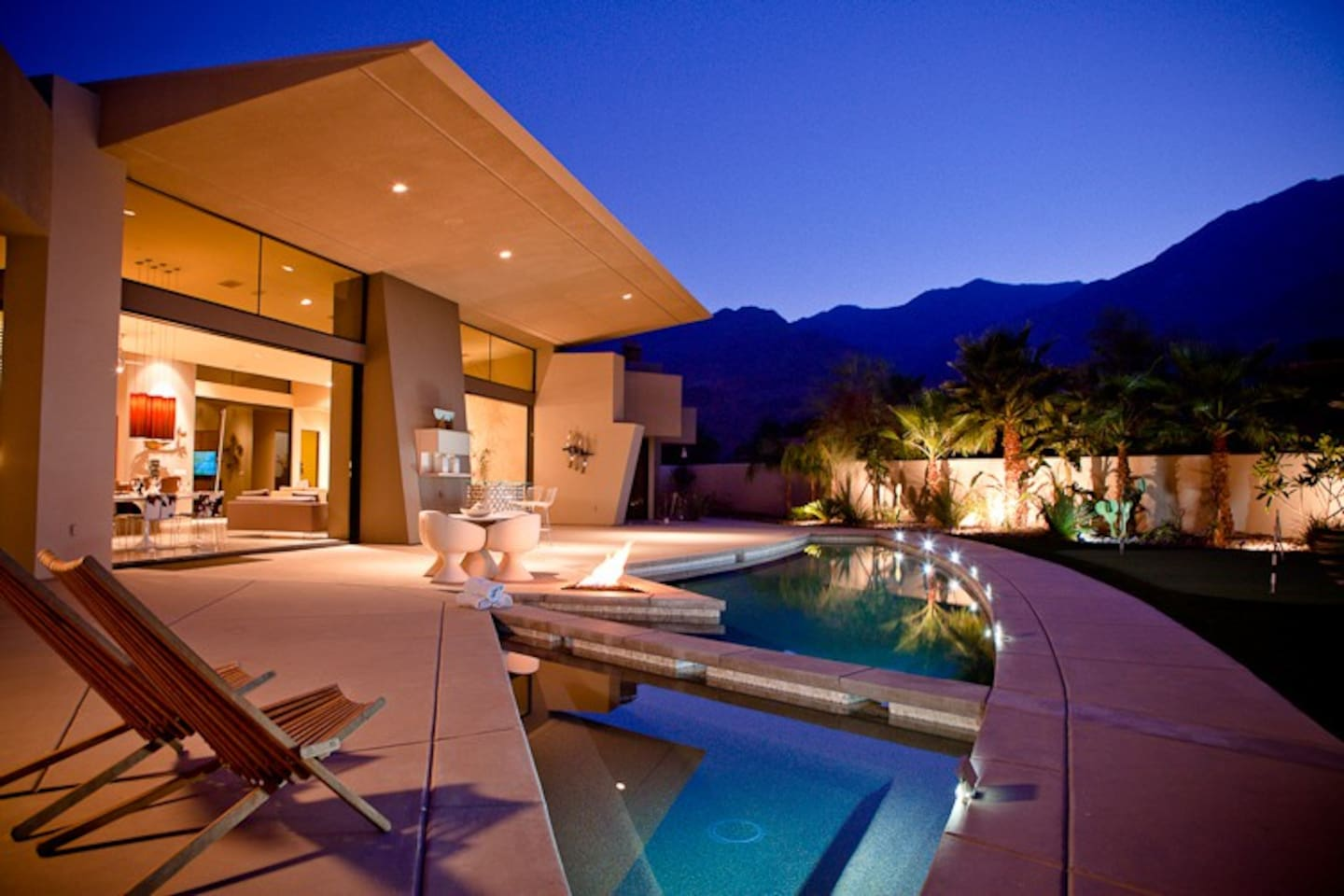 Luxury Palm Springs Rental - Magnificent Mountain Views
