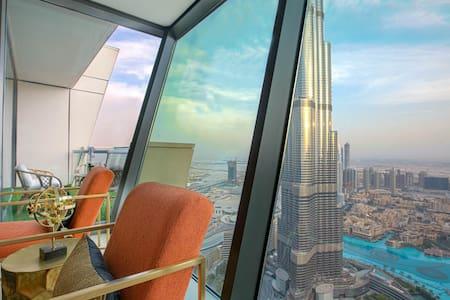 Breathtaking Burj & Fountain View Luxurious 3 Bed