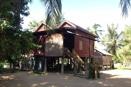 Khmer Traditional Wooden Style - Krong Siem Reap - 独立屋