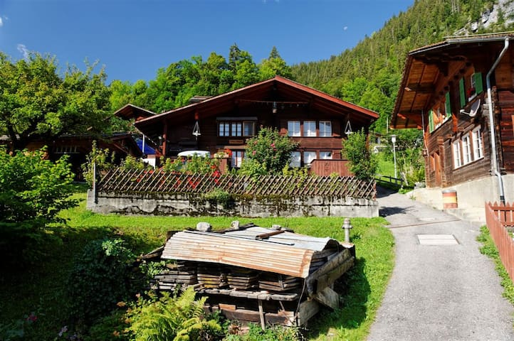 A CHARMING SWISS FAMILY CHALET