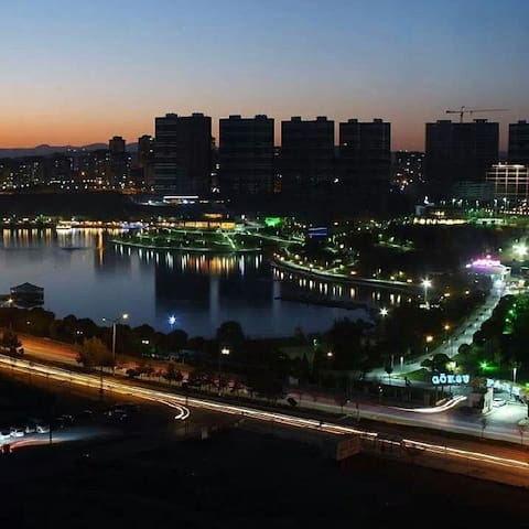 Brand New Flat with a Lake View - Ankara - Departamento