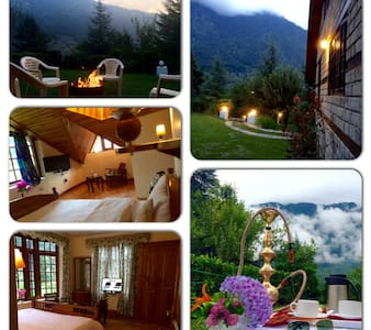 A BEAUTIFUL PRIVATE LUXURY SERVICE HOLIDAY VILLA - Manali