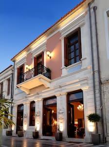 Civitas Boutique Hotel-Deluxe CityView Suite balc. - Rethymno