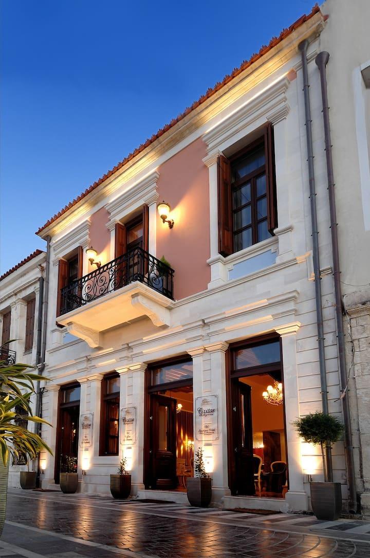 Civitas Boutique Hotel-Deluxe CityView Suite balc.