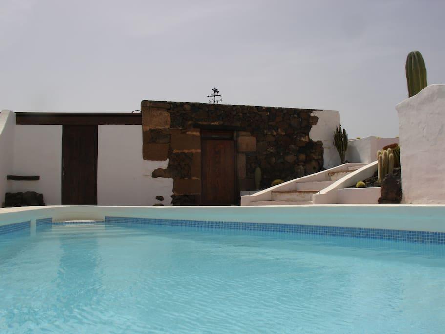 Casa Camella´s heated swimming pool