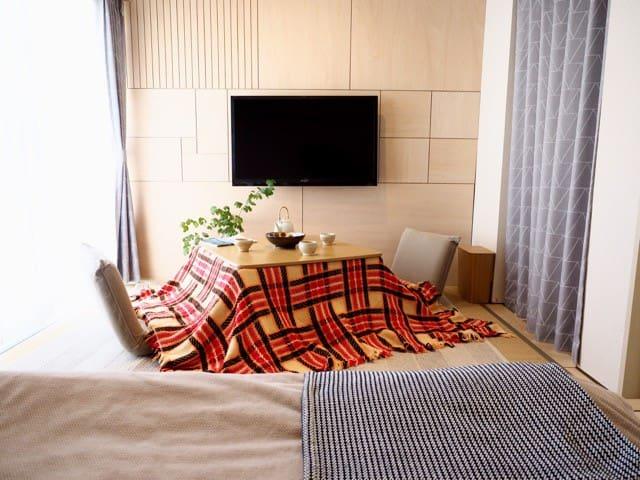 ネオクラシックな部屋に泊まる、倉敷で暮らすように旅をする。