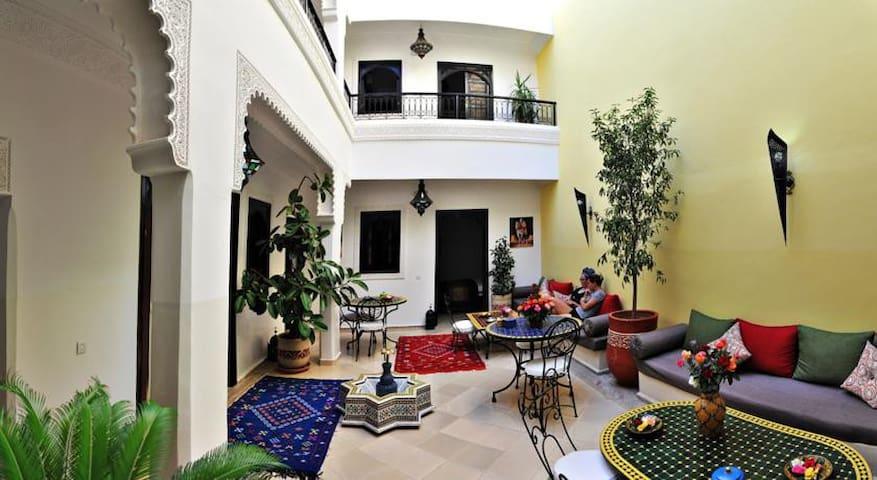 SOUK tiny double room, Riad DAR NOSSA - Marrakech