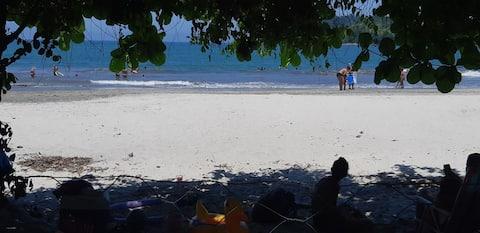 Suítes na praia