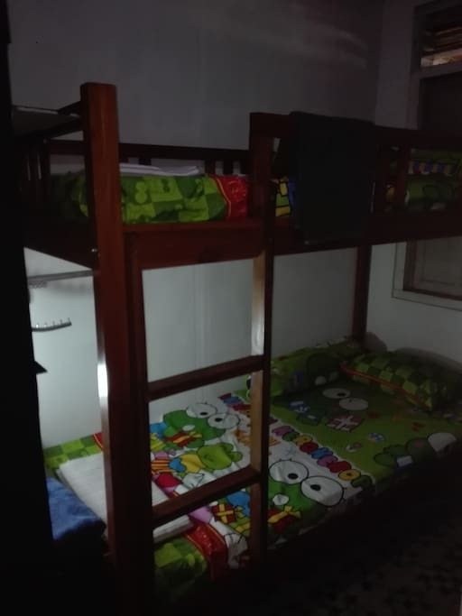 View of the bunk