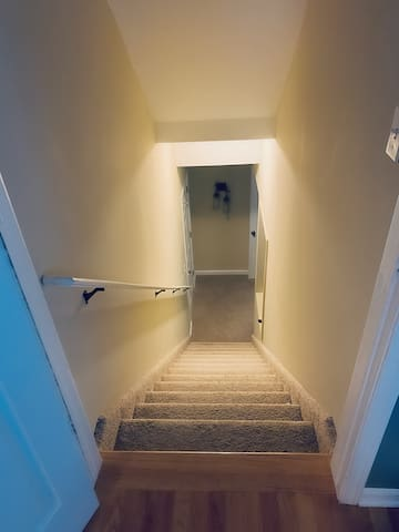 Staircase Down To Basement (Private Door)