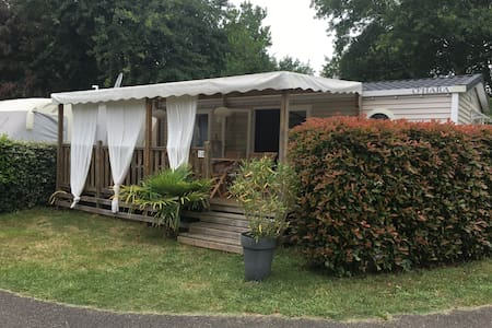 Mobilhome 4/6 pers Biscarrosse camping 5 étoiles
