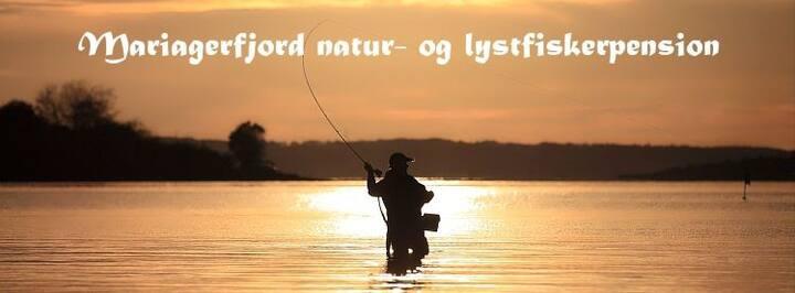 Mariagerfjord Natur- og lystfiskerpension Angling.