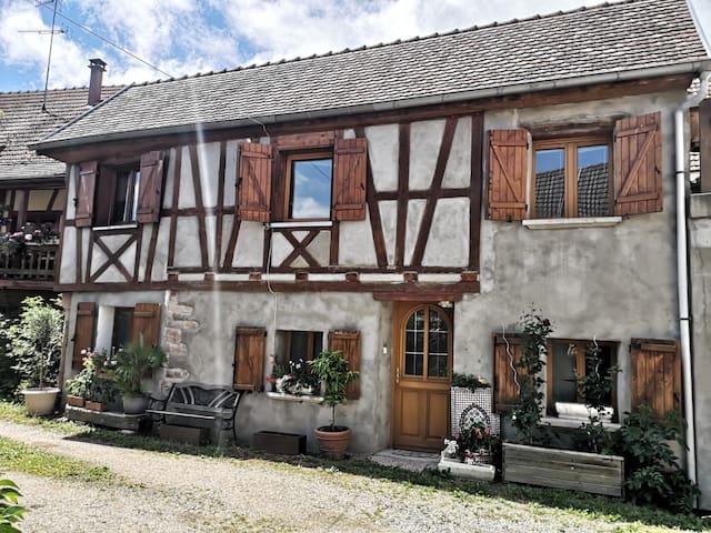 Charmante maison de village sur la route des vins