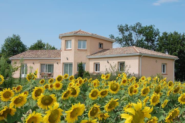 Chambre privée chez l'habitant - Laroque-d'Olmes - Villa