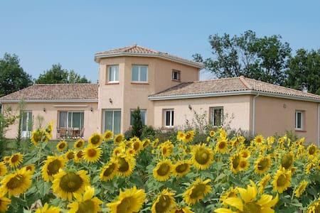 Chambre privée chez l'habitant - Laroque-d'Olmes - 別墅