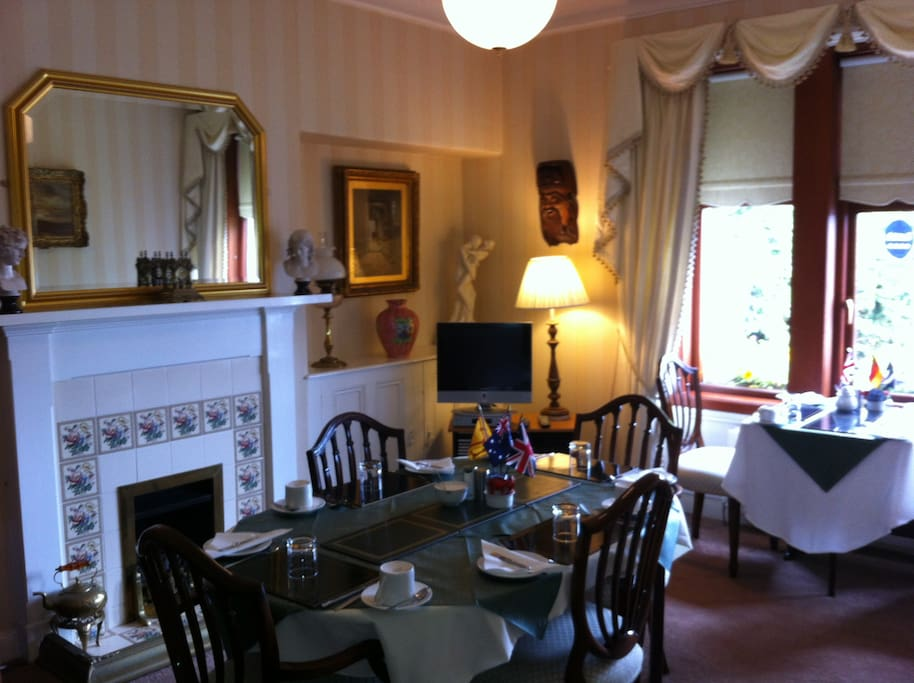 Breakfast Room with buffet and full cooked Scottish Breakfast included