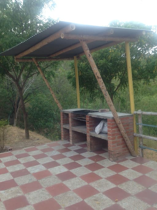 Cabaña Serranía Zona de BBQ independiente