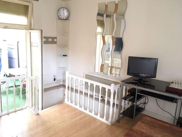 Agréable appart avec terrasse calme - Burdeos - Apartamento