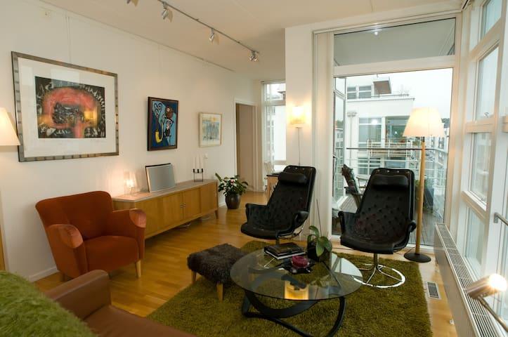 Penthouse in central Stockholm - Estocolmo - Apartamento