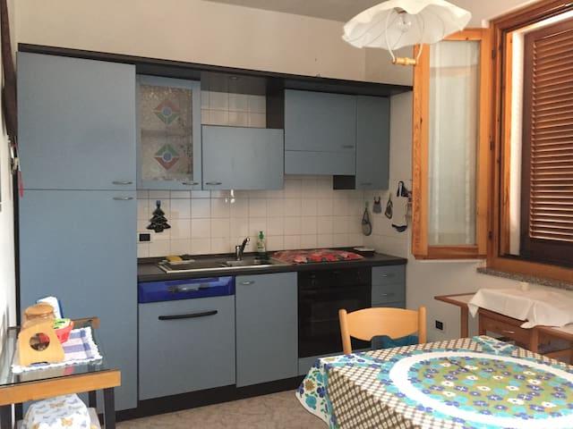 Cucina da utilizzare in comune con eventuali altri ospiti