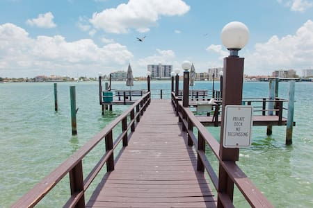 Clearwater Beach Waterview Studio - Clearwater - Apartment