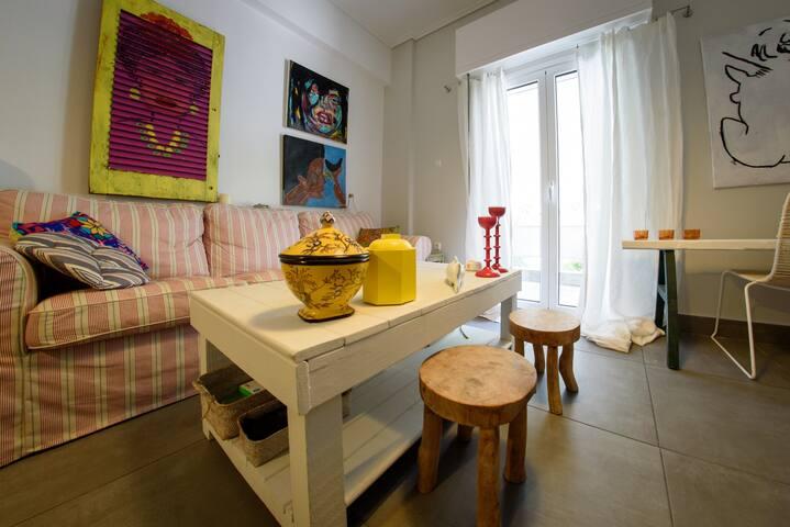 Artistic house near Olympic Stadium - Iraklio - Apartamento