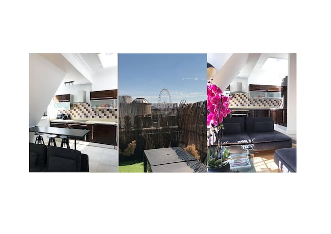 1 BEDROOM ROOF TERRACE COVENT GARDEN
