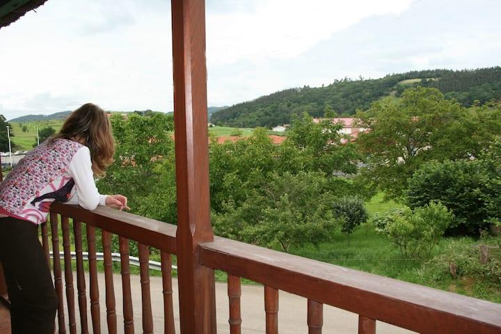 casa las carolinas en Anaz casa del balcón