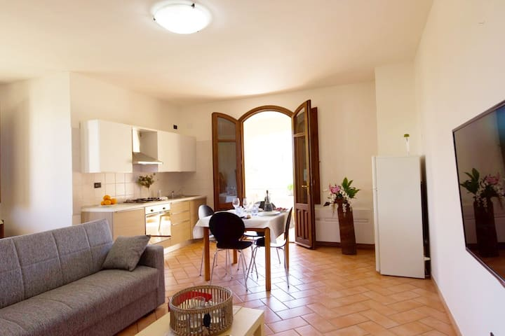 Centrally located, close to the sea, for families