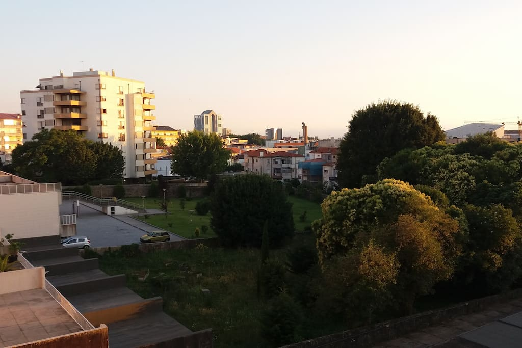 Vista jardim, Boavista e Casa da Música