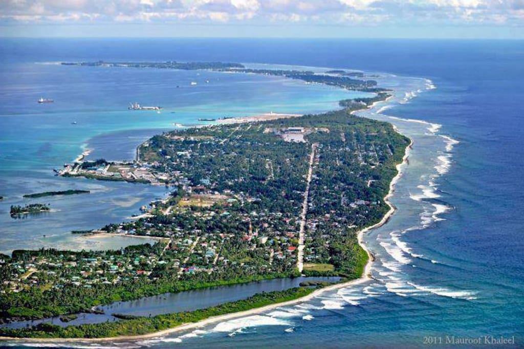 Addu City , South Maldives