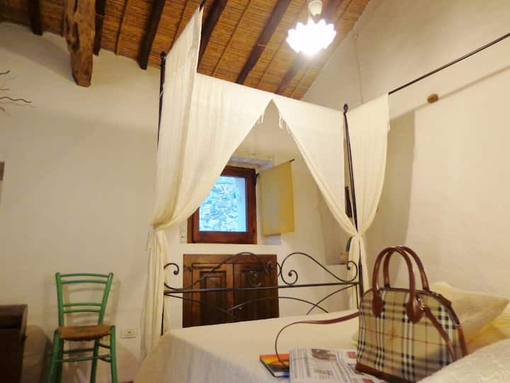 Ancient and tipical sardinia house..