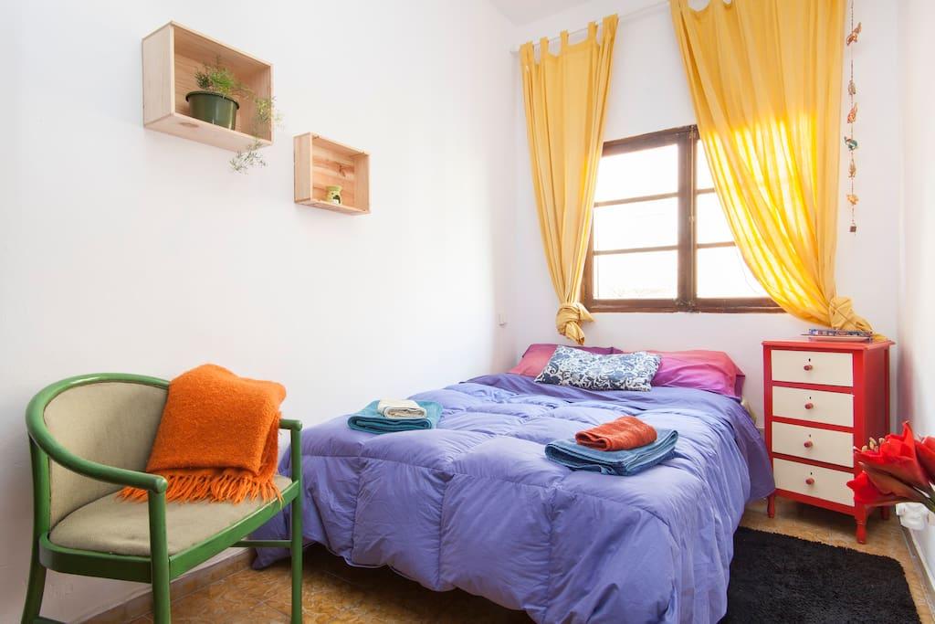 Habitación doble con encanto