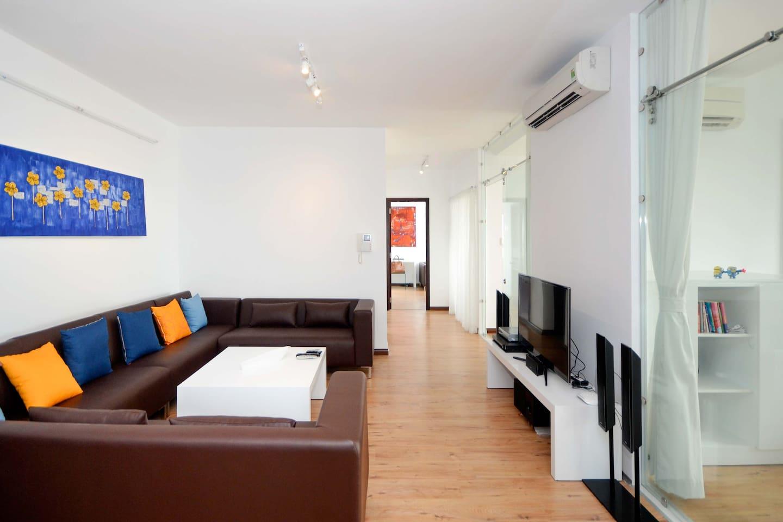 Riverside apartments #5-HCMC centre