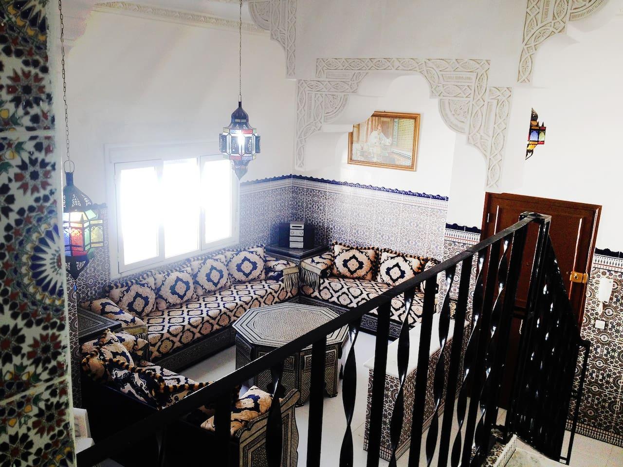 Asilah superbe duplex avec terrasse   appartements à louer à asilah