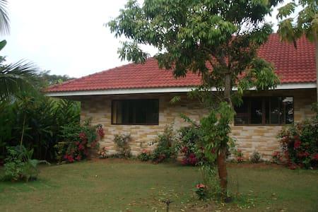 ruim huis view rijstvelden  1200 m2 - Doi Saket, chiang mai