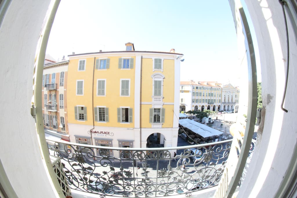 View from the bedroom / Old City