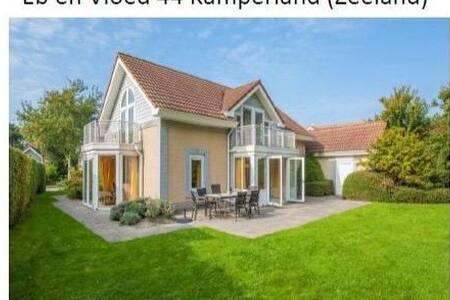 Ruim vakantiehuis in Zeeland Kamperland Domburg