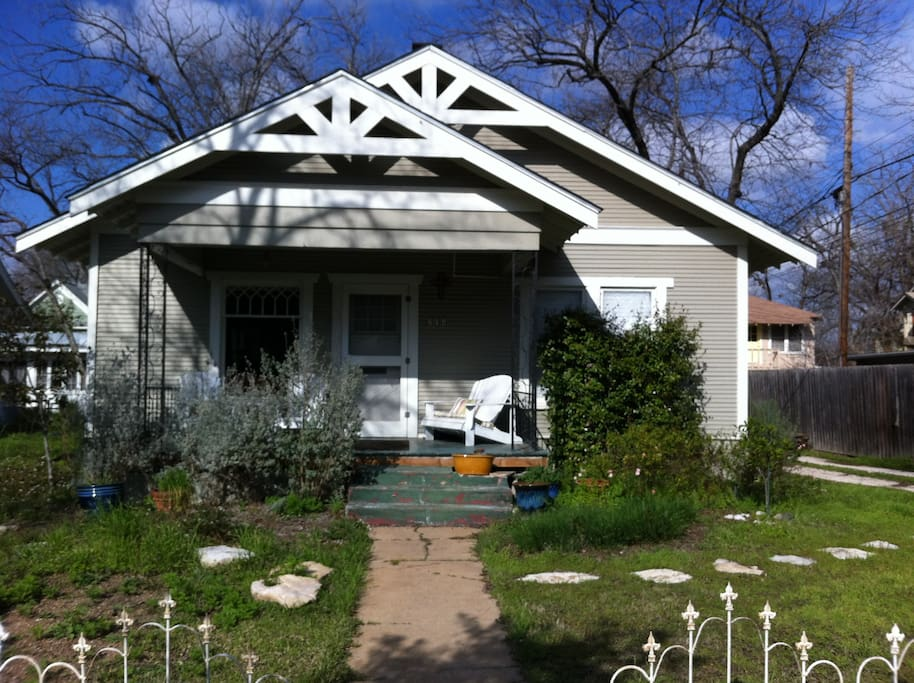 Charming remodeled Hyde Park Bungalow.