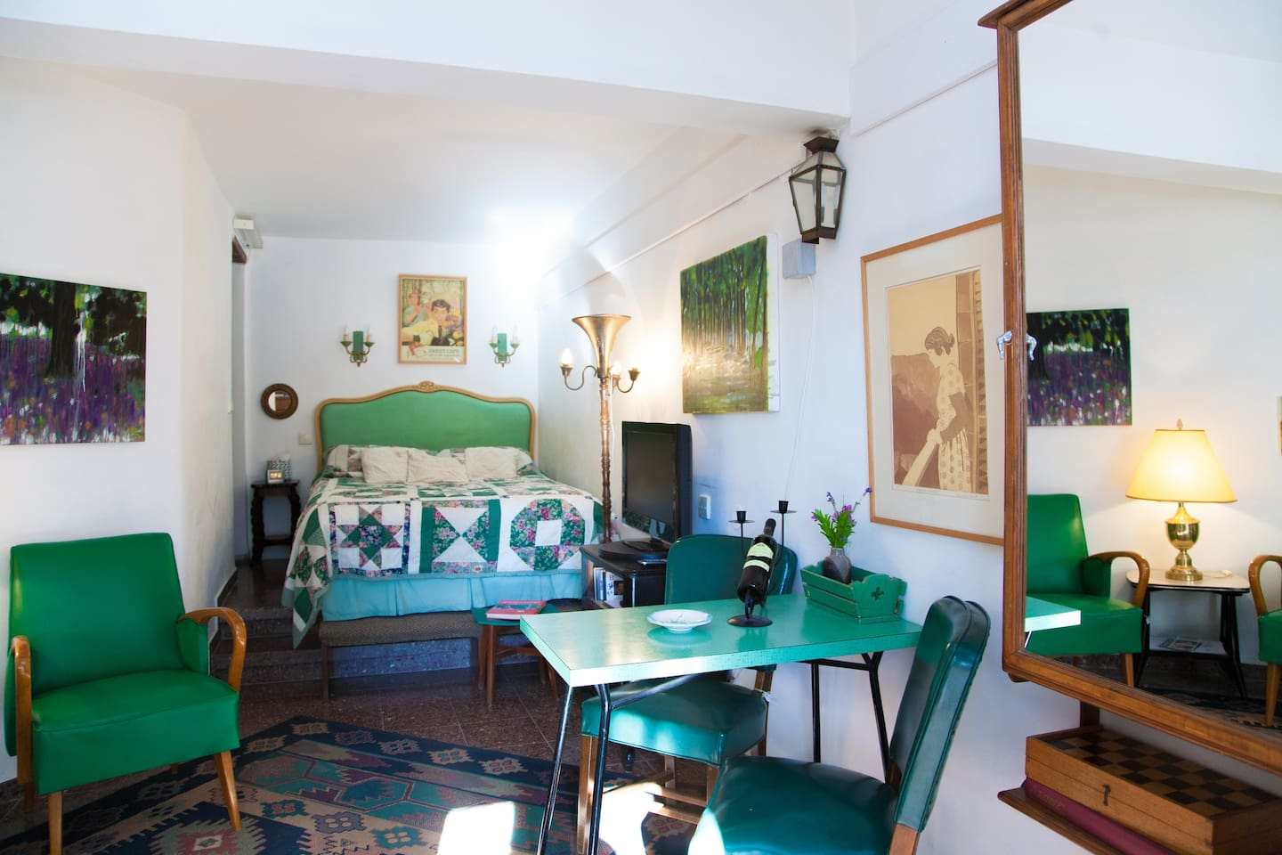 The Green Room - General view